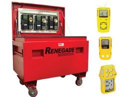 Hire - Gas Detection Storage Kit with detectors