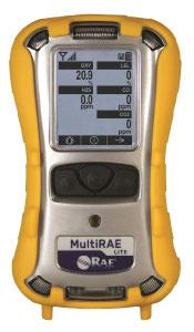MultiRAE Lite Diffused Portable Gas Detector by RAE Systems Honeywell