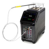 ADT875 Dry Well Calibrator showing PRT Testing by Additel
