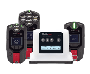 G7x Gas Detector & Lone Worker device Dock